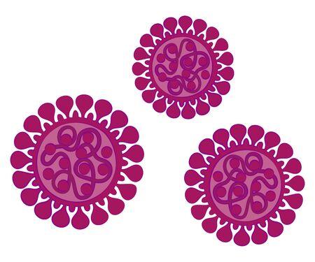New Coronavirus Vector Illustration