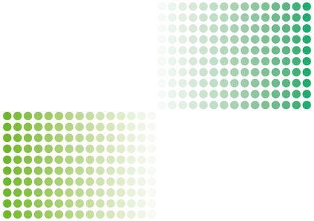 Polka Dot Gradient Background Material Illustration Vector