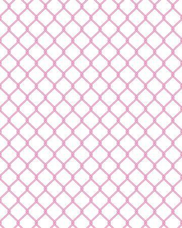 Net Fence Illustration Seamless Pattern Vector Net fence illustration seamless pattern vector  イラスト・ベクター素材
