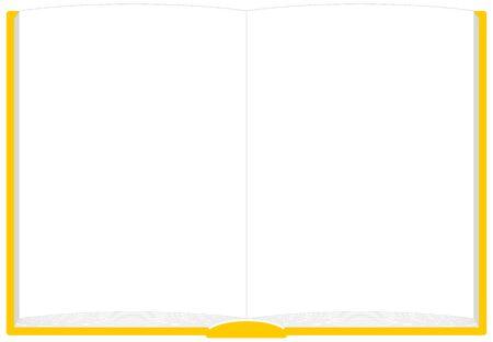 Book Kai-no-Frame Illustration Vector