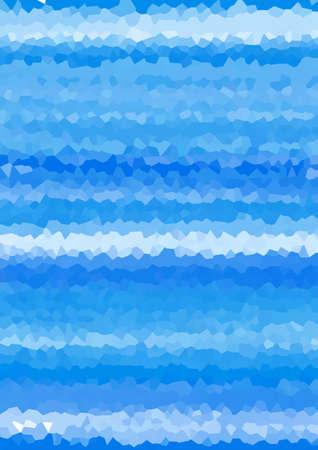 Blue geometric background material Mosaic pattern design illustration like crystal crystal shape Blue Geometric Background Web graphics. A mosaic pattern that looks like the shape of a crystal. Design Illustration.