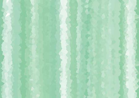 Green geometric background material Mosaic pattern design illustration like crystal crystal shape Green Geometric Background Web graphics. A mosaic pattern that looks like the shape of a crystal. Design Illustration.