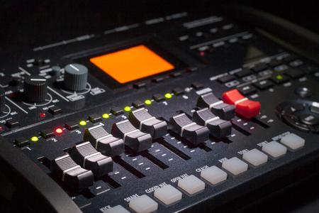 grabadora: Multi Grabadora Pista Foto de archivo