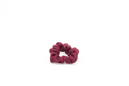 scrunchy: Scrunchy on white isolated background