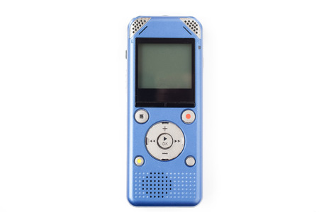 IC recorder on white isolate background Stock Photo