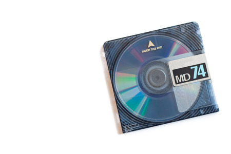 md: MD, Mini Disc, diskc-based data storage device