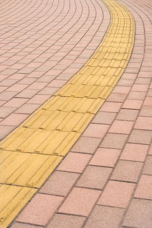 paving: Tactile paving