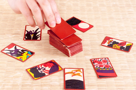 Hanahuda is a traditional Japanese card game.