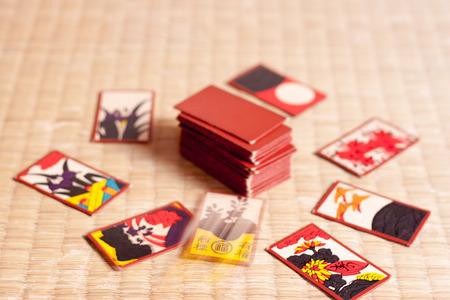 jeu de carte: Hanahuda is a traditional Japanese card game.