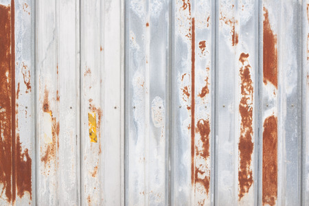 Rusty Rough Painted Steal Wall In Full Frame Stock Photo, Picture ...