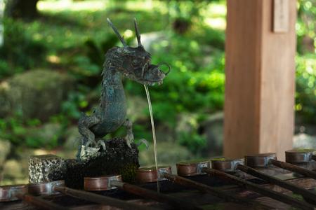 shinto: Japanese Shinto ablution pavilion