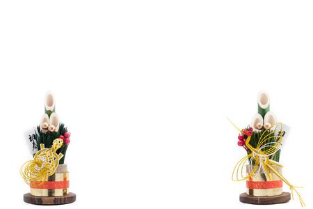 門松と呼ばれる日本の休日の装飾