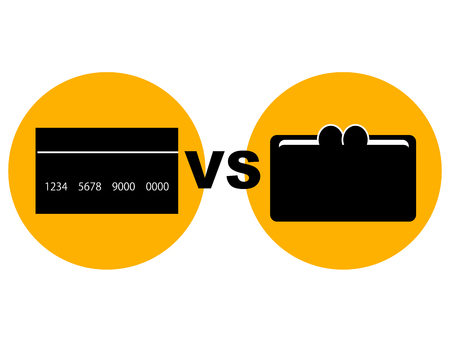 depicting: Concept graphic depicting the point of a credit card