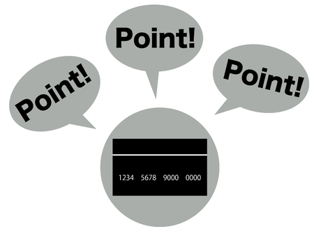 depicting: Concept graphic depicting the point of credit card