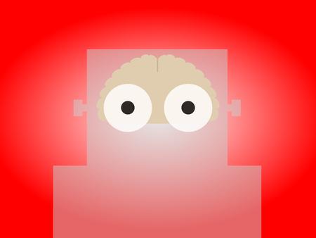 has: AI robot has a brain