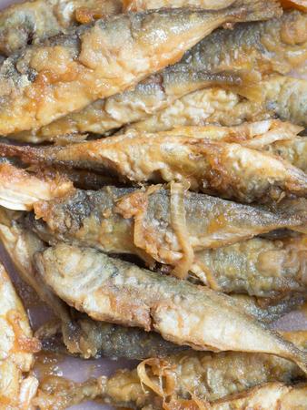 marinade: Japanese cuisine, fried fish marinade called Aji No Namban Stock Photo