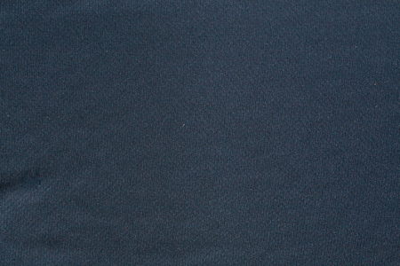 Surface of navy synthetic fabric Stock Photo