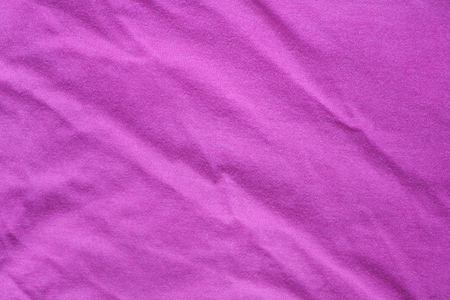 Surface of vivid pink cotton fabric Stock Photo