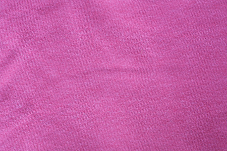 Surface of pink cotton fabric Stock Photo