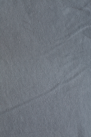 Surface of gray cotton fabric