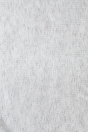 Surface of white soft jersey fabric