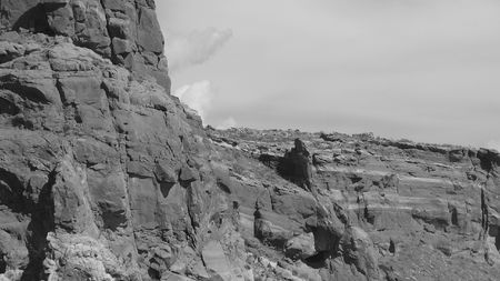 New Mexico in bw