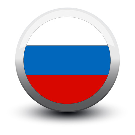 ico: flag icon web button russia isolated on white background