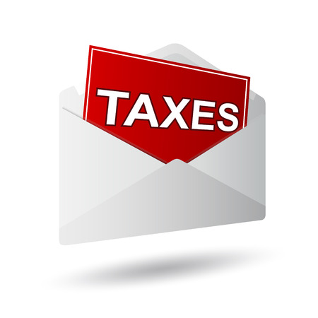 covert: covert taxes icon on a white background Illustration