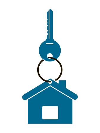 Key for house illustration.