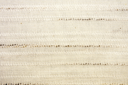 Linen fabric texture close up.