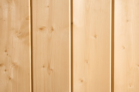 Wooden texture (surface, background) close up. Beige pine planks . Stock Photo - 19318135