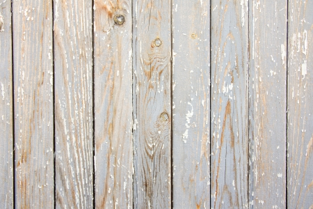 Old aged wooden gray white texture (surface), planks with peelling paint. Stock Photo - 19602270