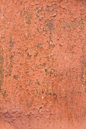 Metal texture (surface) with rust and old peeling paint. Vertical, close up. Stock Photo - 19602272