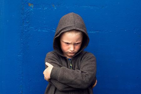 bad behavior: angry aggressive abused threatening rage boy (child, teen)