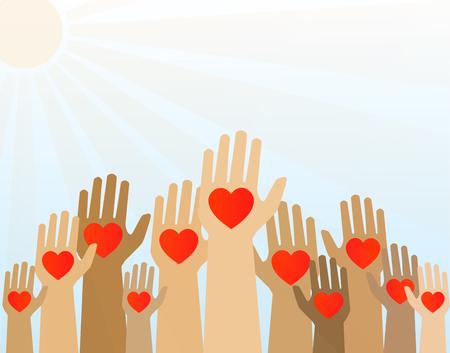 Ręce z serca w górę