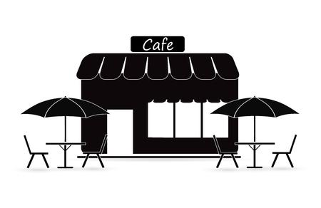 Restaurant, cafe glyph icon