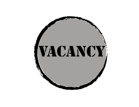Vacancy Clip Art - Royalty Free. Icon. Vector isolated.