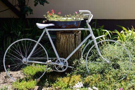 Bike Flowers Decor Park