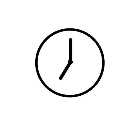 Alarm clock icon. vector illustration. Illustration