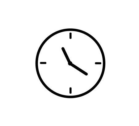 Alarm clock icon. vector illustration. Ilustração