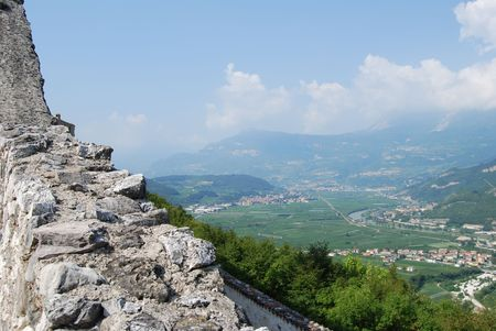 alpen: Italian Alpen landscape during summer