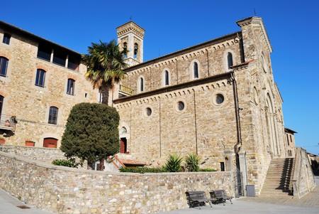 Barberino val dElsa is a medieval village near Florence   Banco de Imagens
