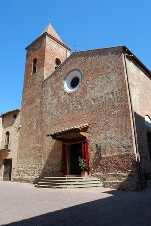 Certaldo Alto is a famous historycal village in Tuscany near Florence