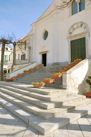 Picture taken in Ravello, an historycal village along the amalfi Coast, near Naples photo