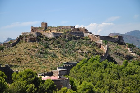 Sagunto is an ancient town in Spain where the secon punic ear started. Sagunto is full of ruinn of many civilization, carthaginians, romans, arabs and spanish