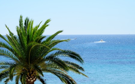 Calp is a famous town along the costa del sol, spain