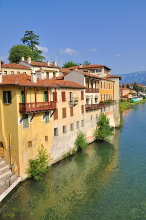 grappa: Bassano del Grappa is a beautiful town in northen Italy