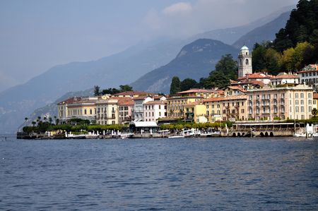 Bellagio is a famous village on the lake of Como in northen italy