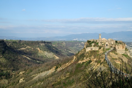 Civita di Bagnoregio Stock Photo - 9381578