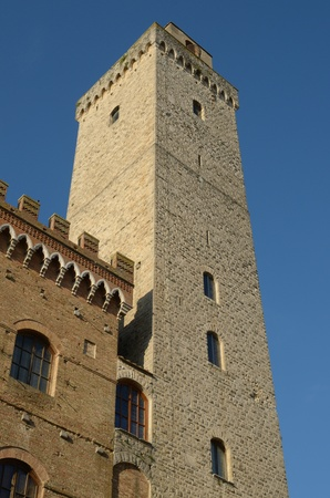 San Gimignano is known as the city of the Beautiful Towers rich in History, Art and Culture surrounded by the splendid Tuscan country Stock Photo